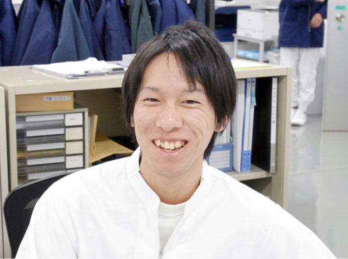 山田 竣介さんの顔写真