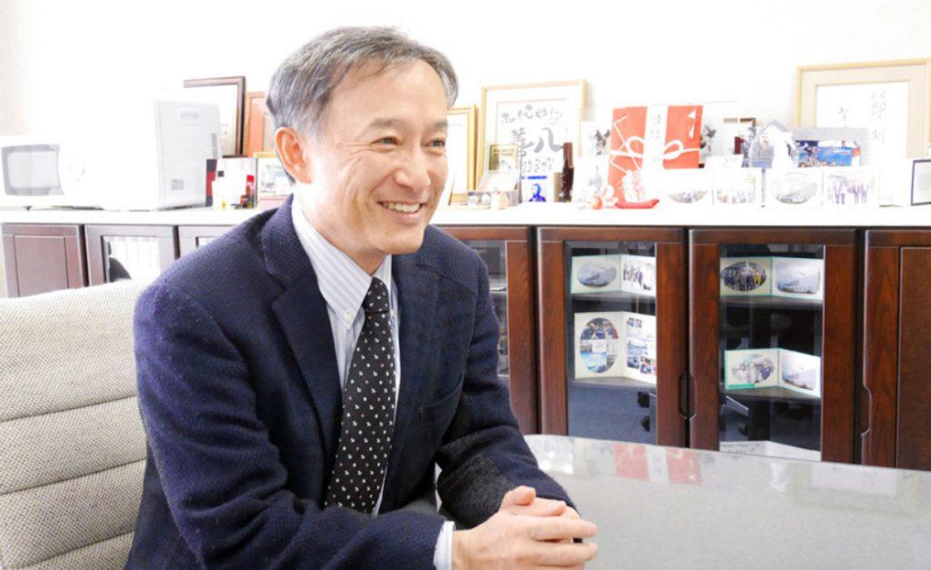 マルハチ村松社長写真