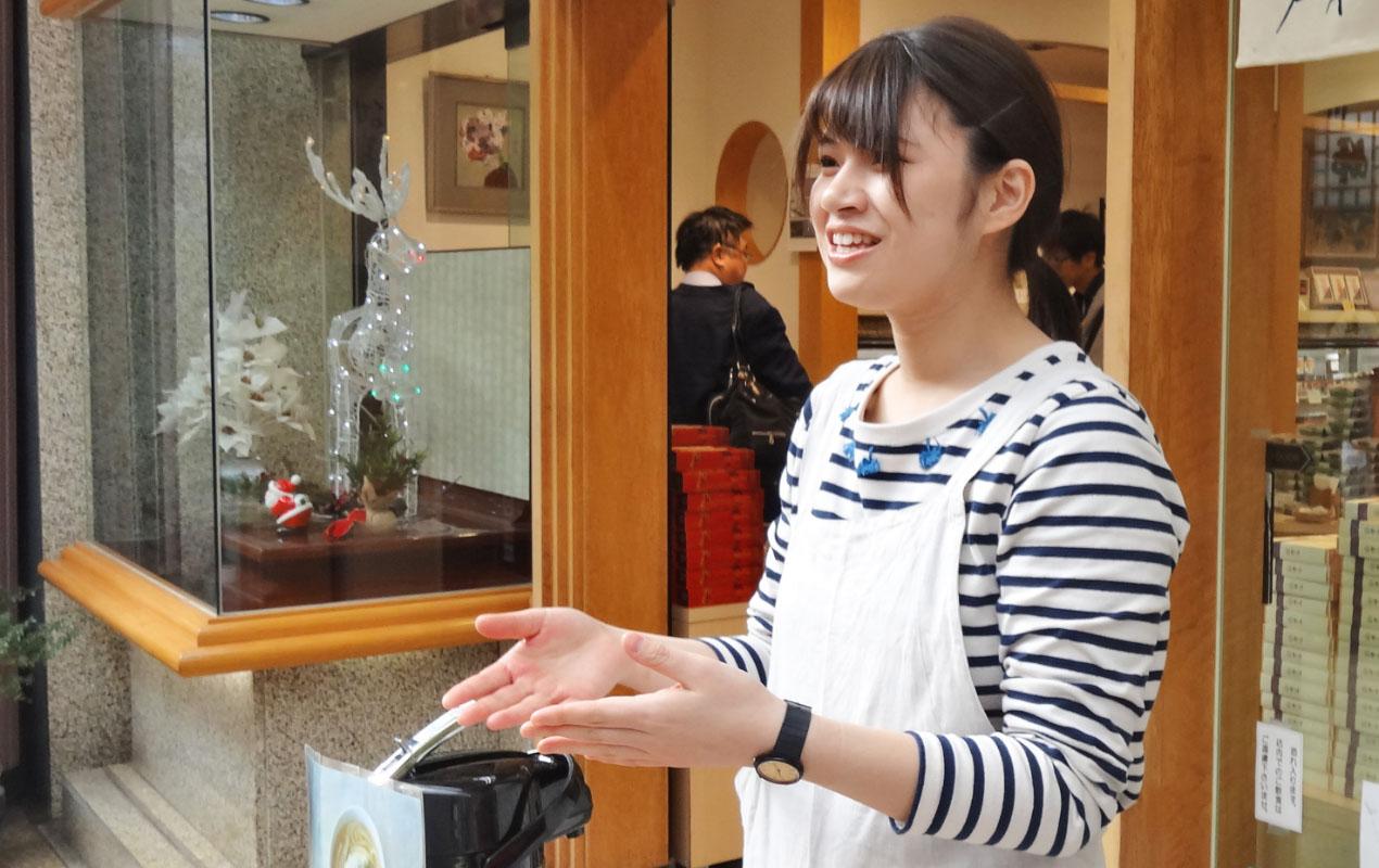 中澤 陽子さんの仕事風景1